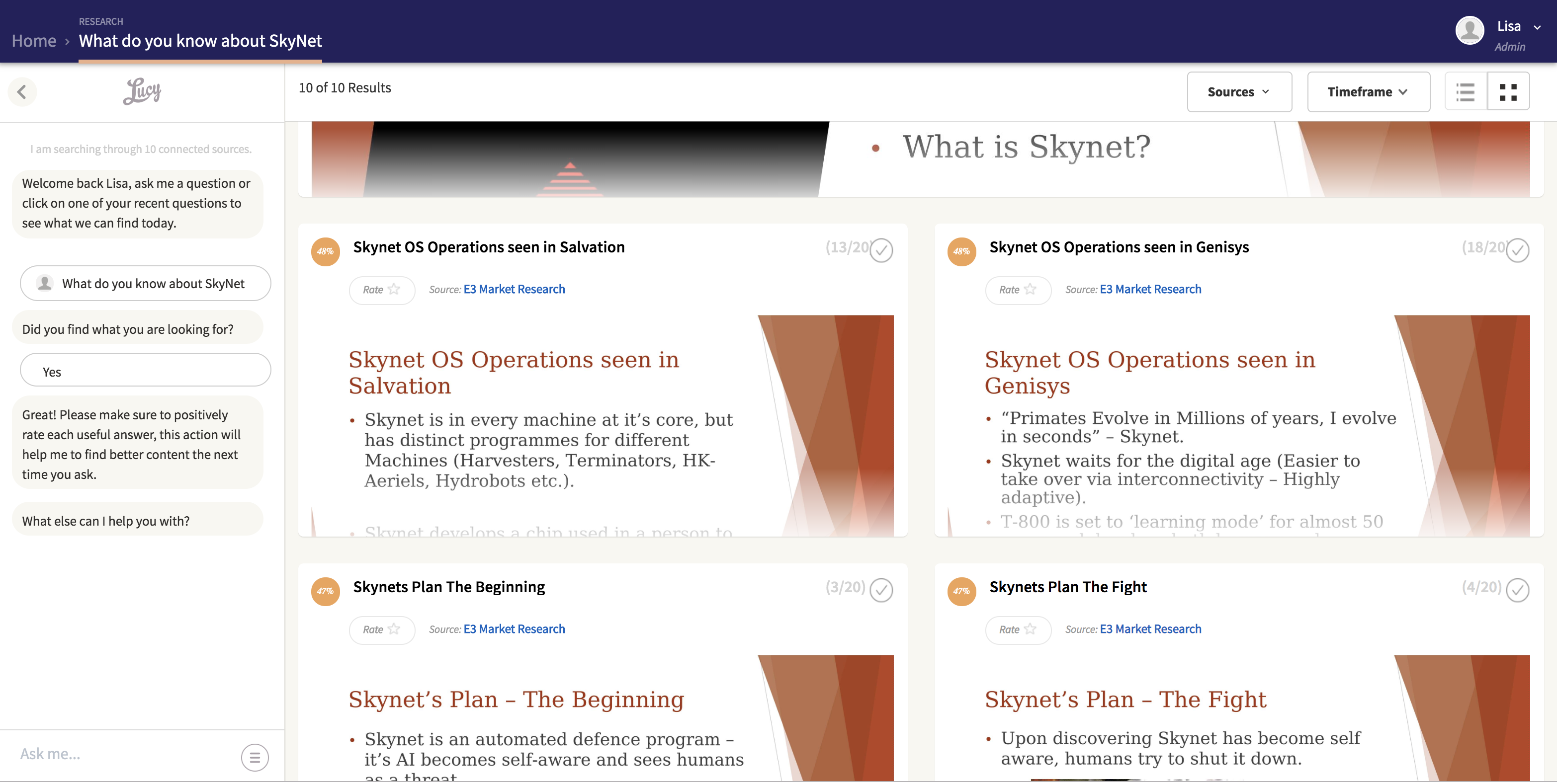 SkyNet Insight